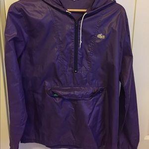 IZOD 100% nylon purple jacket